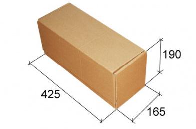 Почтовая коробка Тип В, №4, (425*165*190), без логотипа